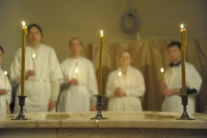 Крещение в соборе